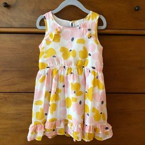 Kate Spade New York Little Girls Ruffle Hem Dress